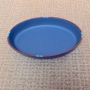 *NWOT* Dansk Mesa Sky oblong blue serving dish